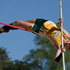 Jen Forbus - The Morning Journal<br> Sydney Walker of Amherst tries to clear the crossbar in the girls pole vault on May 25.