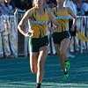 Jen Forbus - The Morning Journal<br> In the girls 400 dash, Amherst was represented by Alexis Alston, front, and Gracen Siegenthaler on May 25. Alston finished first in the race.