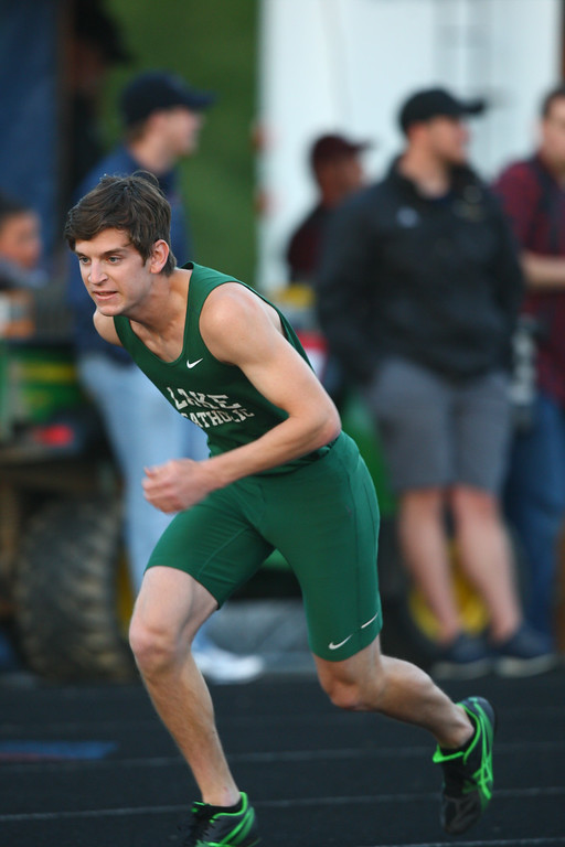 . 2017 - Track and Field - Austintown Regionals.  Lake Catholic\'s 4x400 Relay placed 4th with a time of 3:21.36.