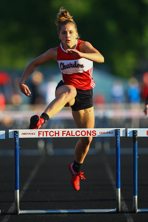 . 2017 - Track and Field - Austintown Regionals.  Chardon\'s Deanna Ogrinc finished 2nd in the Finals of the 300 Meter Hurdles in a time of 44.34.