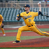 Jen Forbus - The Morning Journal<br> Eli Kraus took the mound for the Kent State Golden Flashes in the MAC Championship game against Miami on May 26.
