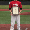 Jen Forbus - The Morning Journal<br /> Amherst senior Evan Shawver was named the 2018 Lorain County Mr. Baseball during the Lorain County Senior All-Star games at Oberlin College on May 26.