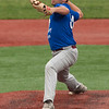 Jen Forbus - The Morning Journal<br /> Avon Lake's Jacob Krukowski delivers during the Lorain County Senior All-Star Game at Oberlin College on May 26.