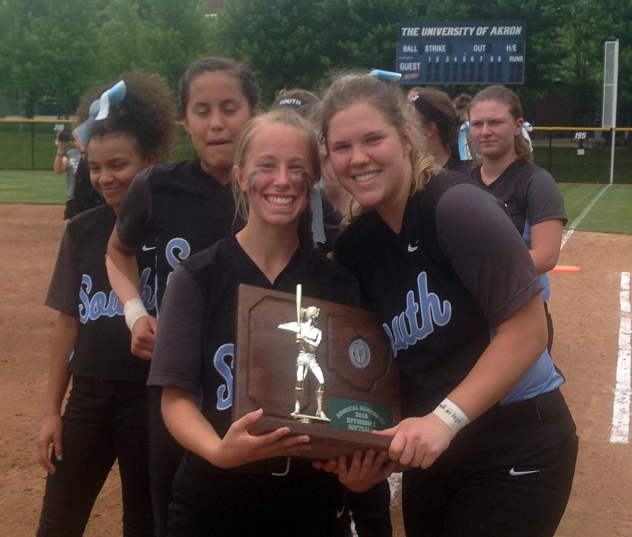 . John Kampf - The News-Herald Photos from the Willoughby South vs. Massillon Perry regional final softball game on May 26, 2018.