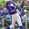Jon Behm - The Morning Journal<br /> Keystone junior Sammie Stefan takes a swing in the bottom of the third inning against Maumee during the Bucyrus Region final on May 29.