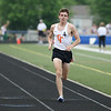 Michael Johnson - The News-Herald<br />  Joe Bistritz of Chagrin Falls gains an extensive lead in the Boys 1600 meter race during the Division 2 Track and Field Regional Finals at Austintown-Fitch High School on May 28, 2016.