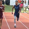 Benedictine's Justin Lane runs in the OHSAA State Track & Field Finals in Columbus, at the Jesse Owens track facility, on June, 3rd, 2016. Mandatory Credit: (Tony Coles/ImpactActionPhotos.com)