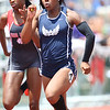 West Geauga's Brittini Mason runs in the OHSAA State Track & Field Finals in Columbus, at the Jesse Owens track facility, on June, 3rd, 2016. Mandatory Credit: (Ben Barnes/ImpactActionPhotos.com)