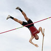 Perry's Nick Lauria vaults in the OHSAA State Track & Field Finals in Columbus, at the Jesse Owens track facility, on June, 3rd, 2016. Mandatory Credit: (Eric George/ImpactActionPhotos.com)