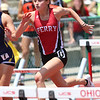Perry's leah King runs in the OHSAA State Track & Field Finals in Columbus, at the Jesse Owens track facility, on June, 3rd, 2016. Mandatory Credit: (Ben Barnes/ImpactActionPhotos.com)
