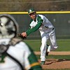 Randy Meyers - The Morning Journal<br> During his junior year, Amherst pitcher Evan Shawver delivers a pitch against Avon on April 12, 2017.