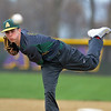 Scott Mahoney - The Morning Journal<br> During his freshman year, Amherst's Evan Shawver delivers a pitch against Avon on April 21, 2015 at Avon Middle School. The Comets fell, 7-3.