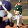 Randy Meyers - The Morning Journal<br> During his senior year, Evan Shawver of Amherst delivers a pitch against Avon during the third inning on April 12, 2018.