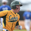 Eric Bonzar - The Morning Journal<br> During his sophomore year, Amherst's Evan Shawver hustles around the bases in a regional semifinal against Whitehouse Anthony Wayne on May 24, 2016.