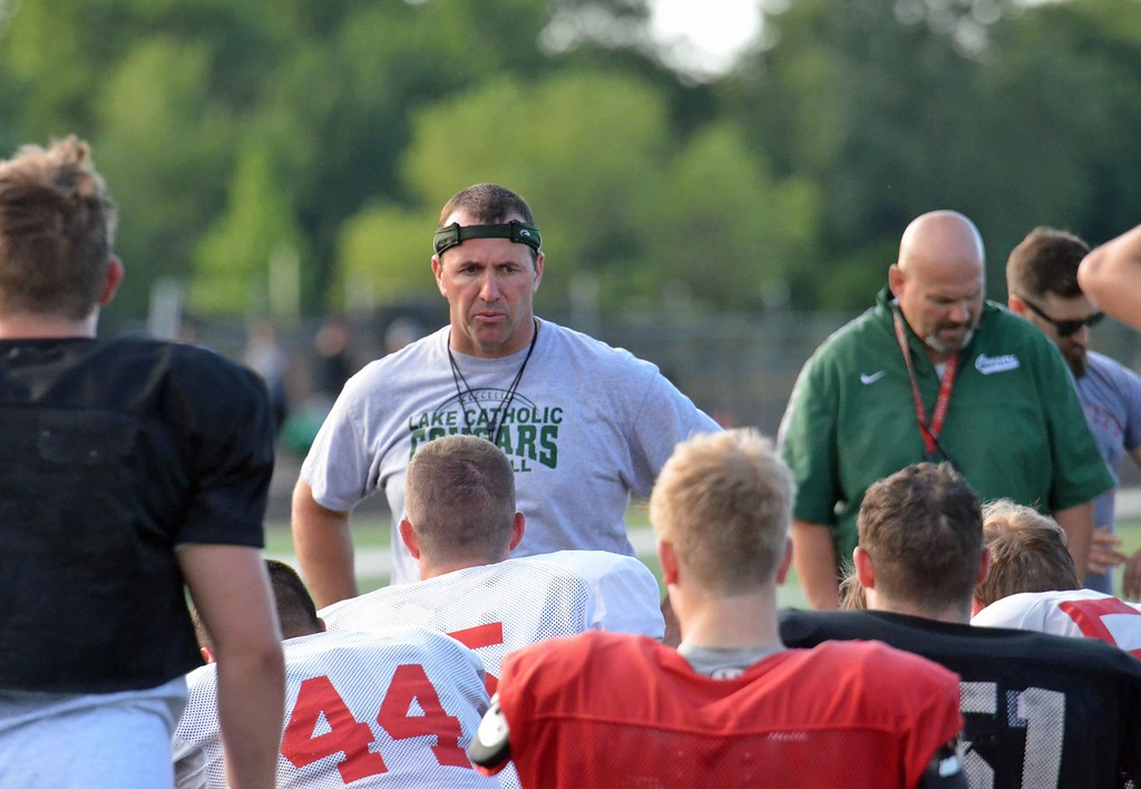 . Paul DiCicco - The News-Herald Photos from the second day of practice for The News-Herald Senior Bowl on June 11 at Mayfield High School.