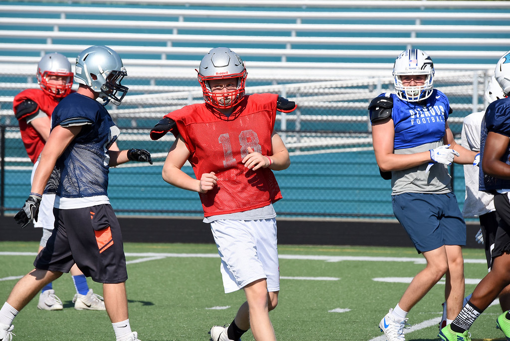 . Mike Payne - The News-Herald Photos from the fourth day of practice for The News-Herald Senior Bowl on June 13, 2018.