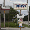 """Jen Forbus - The Morning Journal<br /> The parade kicked off at Hershey's Ice Cream parlor where they were celebrating the state champs with """"sprinkles for all."""""""