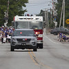 Jen Forbus - The Morning Journal<br /> The Lagrange police and fire departments led the parade, and fans lined the road to cheer girls.