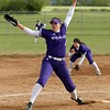 Randy Meyers - The Morning Journal<br> Keystone relief pitcher Lauren Shaw delivers a pitch against Padua on May 11.
