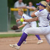 Eric Bonzar—The Morning Journal<br> Keystone junior Sydney Campbell pitched the Wildcats to an 8-2 win over the Defiance Bulldogs, and a trip to the schools' 17th state final four appearance, May 26, 2018.
