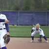 Eric Bonzar—The Morning Journal<br> Keystone pitcher Sydney Campbell only gave up two hits in the Wildcats' 21-0 win over the Rocky River Pirates, May 11, 2018.