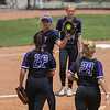 Eric Bonzar—The Morning Journal<br> Keystone pitcher Sydney Campbell pitched a complete game, giving up just two hits and no runs. The junior struck out six and walked one in the Wildcats' 1-0 win over the Fairfield Union Falcons on May 31.
