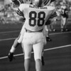 East's Chad Zgonc of Mentor (88) and Ryan Maruschak of Perry (22) celebrate a touchdown in 1994.