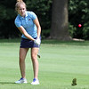 Randy Meyers - The Morning Journal<br /> Grace Boccia of Magnificat chips the ball onto the green during the OGGF Showcase on Monday at the Avon Oaks Country Club