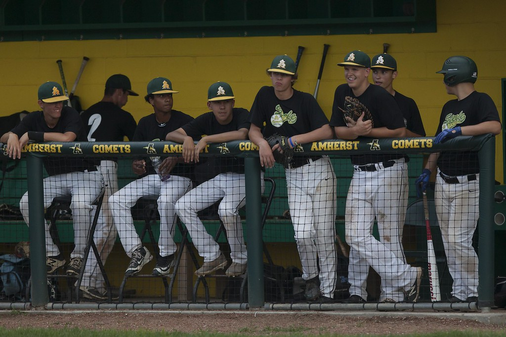 . Jen Forbus - The Morning Journal Photos from the Amherst vs. Bay high school baseball game on July 24, 2018.