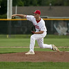 Jen Forbus - The Morning Journal<br /> On the mound for Elyria, Chris Willis delivers a pitch.