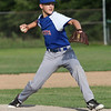Randy Meyers - The Morning Journal<br /> Lucas Shell of Bay pitches in relief against Keystone on Thursday at the Amherst Summer Classic.