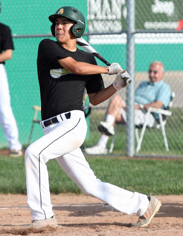 . Randy Meyers - The Morning Journal Photos from Amherst baseball\'s 14-4 victory against Lorain July 27.