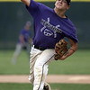 Jen Forbus - The Morning Journal<br /> Wildcat pitcher Sean Saterlee delivers a pitch from the mound.