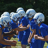 Eric Bonzar—The Morning Journal<br> Clearview Clippers kicked off their first day of practice, under Head Coach Mike Collier, July 31, 2017.