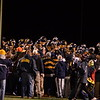 The Morning Journal File<br> The Olmsted Falls fans celebrate with the team following the Bulldogs' playoff victory over Westlake.