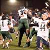 The Morning Journal File<br> Westlake celebrates following its come-from-behind win over Holland Springfield in a Division II, Region 6 quarterfinal game on Nov. 4.