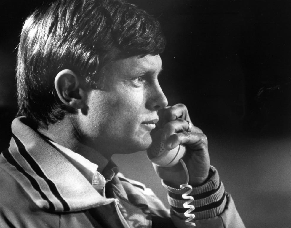 . News-Herald file Hawken football coach Cliff Walton, shown in 1987.