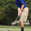 Randy Meyers - The Morning Journal<br /> Midview's Andy Lewis putts on the  9th green during the SWC preview held on Wednesday Aug 15