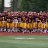 Jen Forbus - The Morning Journal<br> The Avon Lake varsity squad takes the field on Aug. 16.