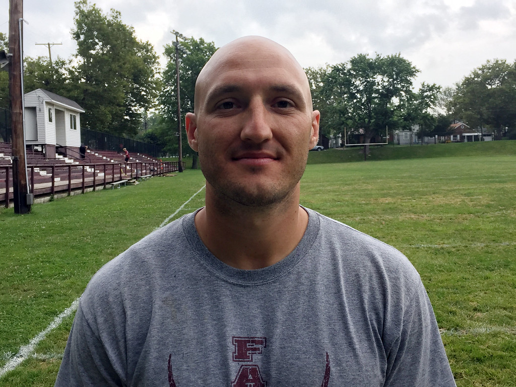 . Fairport coach Cameron Ruff