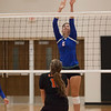 Jen Forbus - The Morning Journal<br> Bay's Ella Boyer eyes the ball as it comes over the net on Aug. 18.