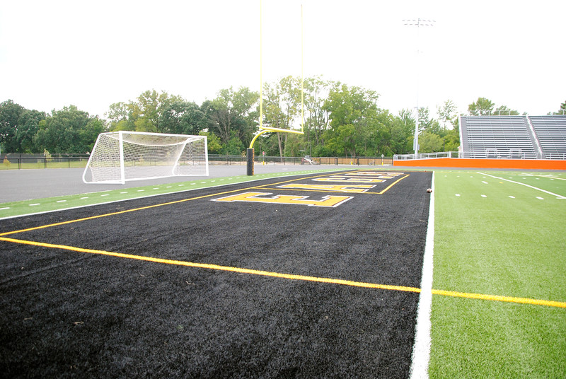 Jon Behm - The Morning Journal<br> Photos of the new North Olmsted Stadium.
