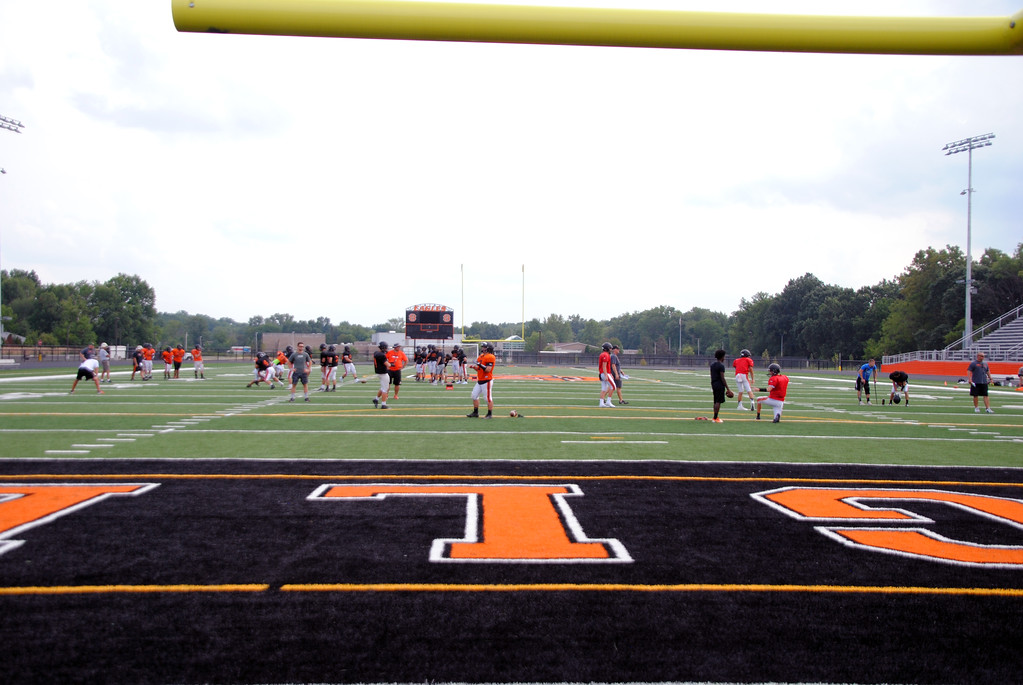 . Jon Behm - The Morning Journal<br> Photos of the new North Olmsted Stadium.