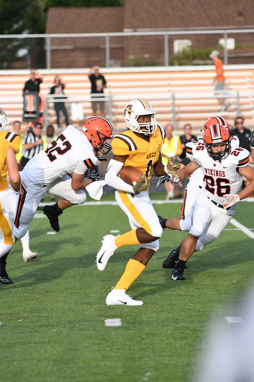 . Patrick Hopkins - The News-Herald North Canton Hoover vs. Brush on Aug. 24.