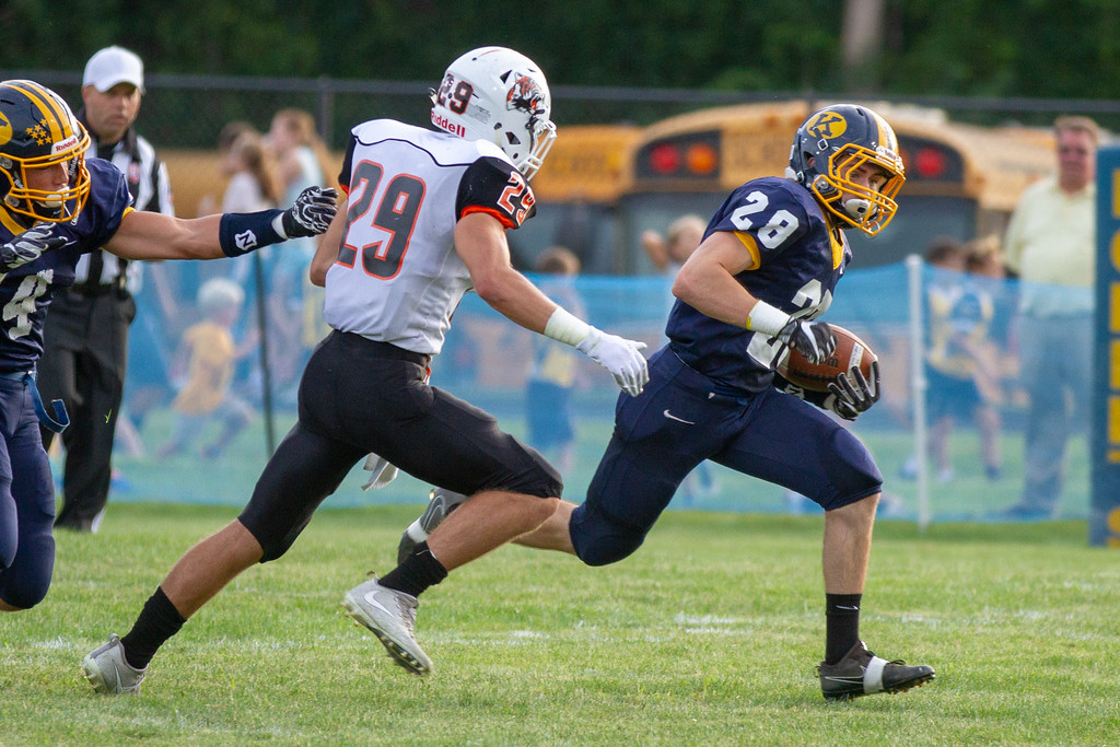 . Barry Booher - The News-Herald Chagrin Falls vs. Kirtland, Aug. 24, 2018.