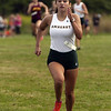 Jen Forbus - The Morning Journal<br /> The first member of Amherst Steele's girls team to cross the finish line at the SWC Preview was Junior Victoria Bailey, who finished fifth for the girls overall.