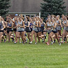 Jen Forbus - The Morning Journal<br /> At the sounds of the starter's pistol, Avon, Midview, and Olmsted Falls girls are off and running.