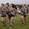 Jen Forbus - The Morning Journal<br /> Members of the Midview cross country team help pace each other during the race.