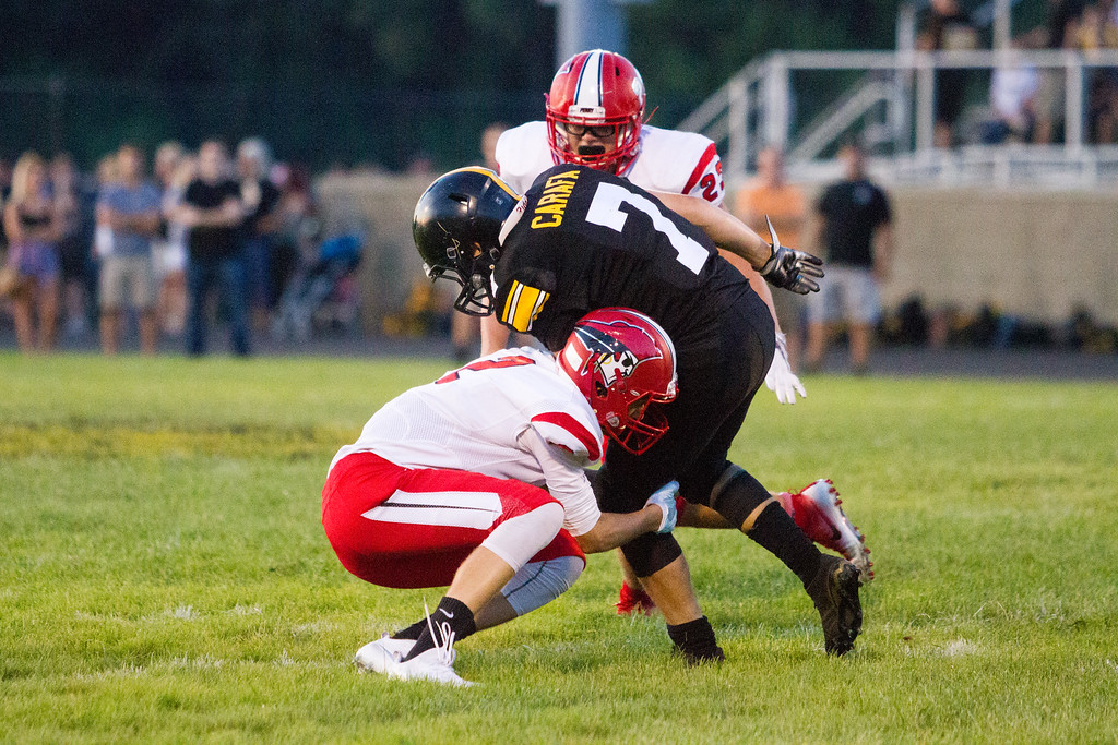 . Barry Booher - The News-Herald Action from Perry\'s win over Riverside on Aug. 26.