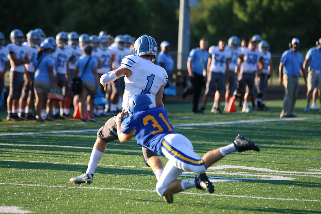 . Brenden O\'Brien - The News-Herald Action from Willoughby South\'s win over NDCL on Aug. 26.